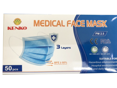 3 layer - surgical face mask