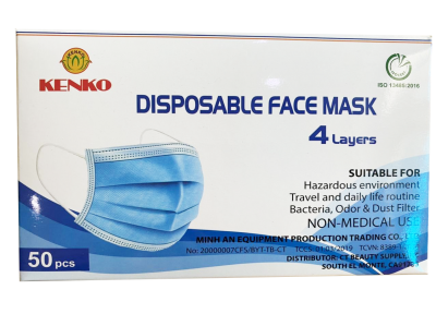 4 layer - disposable face mask