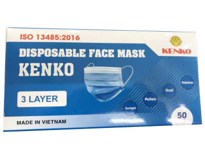 3 layer - disposable face mask