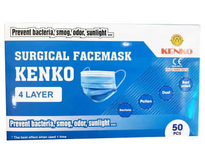 4 layer - surgical face mask
